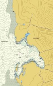 Carta Naútica Región de Aysén