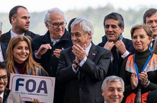 """Presidente Piñera presenta en Puerto Montt plan para disminuir las brechas digitales: """"Esto va a permitir cambiar la vida a mucha gente"""""""